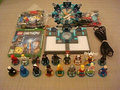 Lego Dimensions Xbox One Bundle 18 Figures + Portal + Game, Free Recorded Post