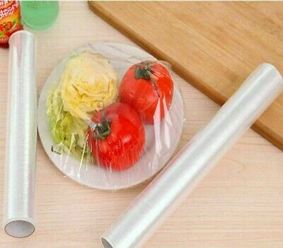 30M X 300Mm Cling Film Roll Food Wrap Cover Food Storage Covering Non Perforated