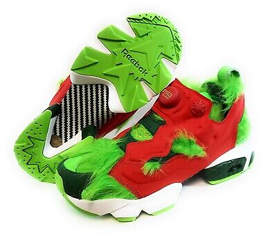 MENS REEBOK INSTAPUMP Fury CV BD4758 Green The Grinch