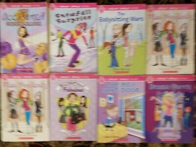 Lot of 8 CANDY APPLE Scholastic Chapter Books for Girls Ages 8-12