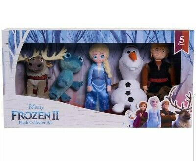 ❄New! 2019 FROZEN 2 II 10 in. PLUSH COLLECTORS SET, BRUNI, ELSA, SVEN, KRISTOFF☃