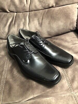 Men/'s High Quality Man-Made Leather Dress Shoes w// Square Toe Size 8.5-13 A3391