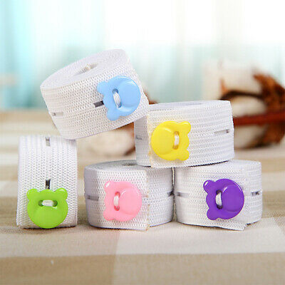 10Pcs Baby Diaper Fixed Belt Buckle Cloth Fasteners Elastic Nappy Fastener