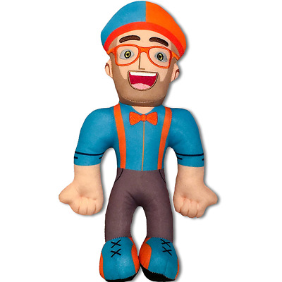 Hot TV Blippi Kids T-Shirt  Cosplay Tops Blue Tees Tie Bow Trousers Strap 7RUK