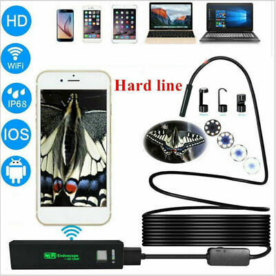 5.5mm USB Endoscope Borescope Inspection Tube Camera For Android Mobile UK