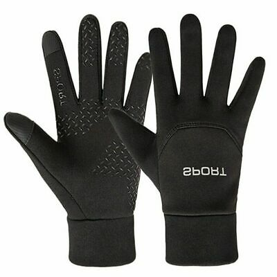 Football Sports Gloves Player Waterproof Thermal Grip Outfield Field Boys Kids