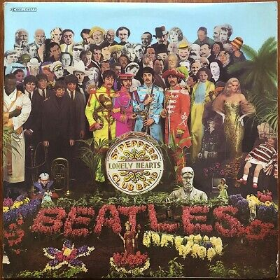 THE BEATLES Sgt. Pepper's Lonely Hearts Club Band 1967 french 1974 repress Apple
