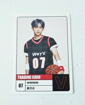 K-POP WayV WINWIN Limited Photocard - Official New 2020 SEASON'S GREETINGS
