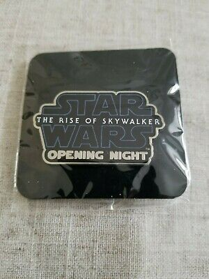 The Rise of Skywalker Star Wars opening night fan event movie promo pin