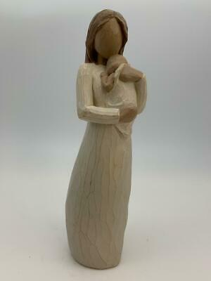 """Willow Tree Angel Of Mine Mother Child Figurine 2003 Pre-owned 9"""" tall"""