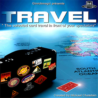 TRAVEL (Gimmick+Online Instructions) By Mickael Chatelain,Close Up Magic Trick,F