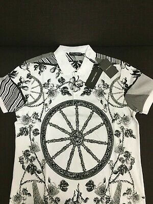 Dolce /& Gabbana Mens Off White Sicilian Printed T-Shirt  48 US38 RTL$390
