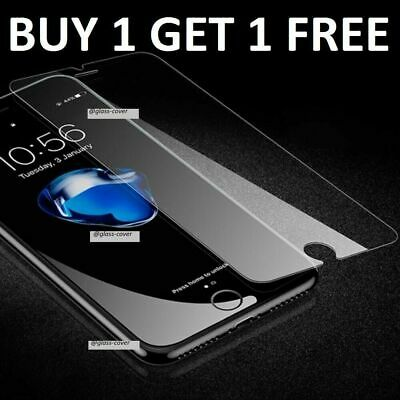 100% Genuine Tempered Glass Screen Protector For Apple iPhone 8 Plus - Clear