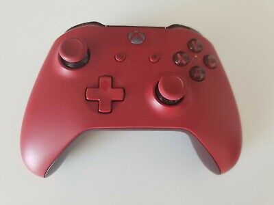 Official Microsoft Xbox One Wireless  Controller - Red With Box