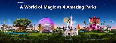 4-Day Ticket - Walt Disney World Theme Parks (4 Parks)