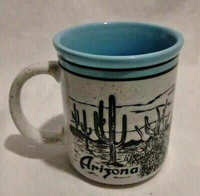 Vintage SPECKLED Stoneware ARIZONA Coffee Mug ~ SSI