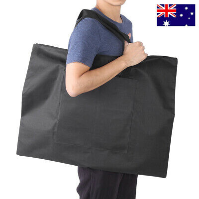 Portable A2 Drawing Board Storage File Bag Document Carry Case Shoulder Tote AU