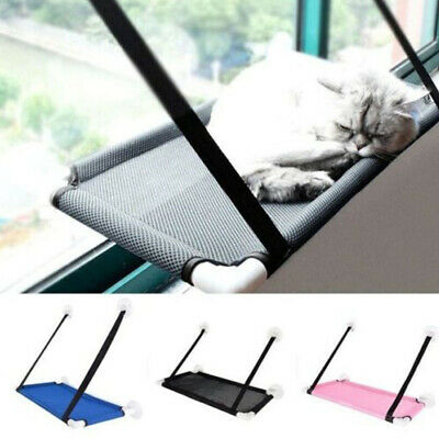 Cat Bed Sleep Hammock Window Durable Perch Seat Mounted Shelf Kitty Sofa Bolster
