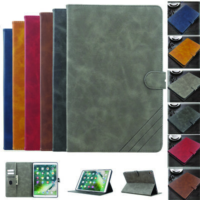 Smart PU Leather Case Stand Cover for iPad 10.2 2019 7th Pro 10.5 9.7 Air Mini 5