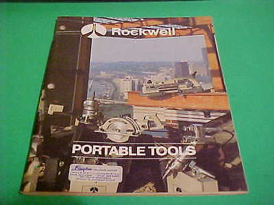 1974 Rockwell Portable Tools Catalog 120 Pages