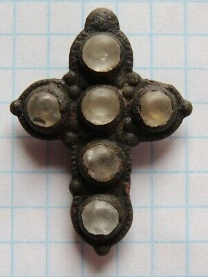 Ancient rare bronze cross