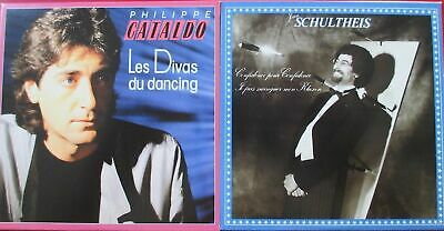 Cd Single - Cataldo Les Divas Du Dancing - Schultheis Confidence Pour Confidence