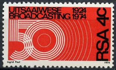 South Africa 1974 SG#345, 50th Anniv Of Broadcasting MNH #E9277