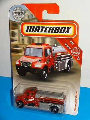 85//125 2017 MBX DVK95 YELLOW Freightliner M2 106 Fire Truck New in Package!