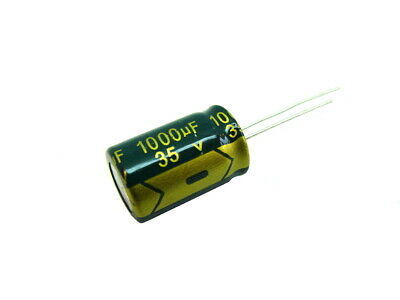 5 or 10 ELITE 1000uF 16V Low ESR Radial Electrolytic Capacitor Pack of : 2