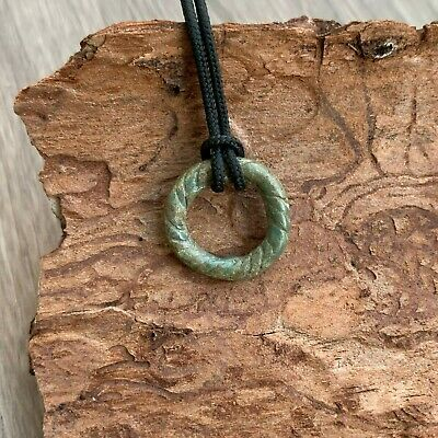 "Celtic Bronze Ring / Pendant / ""Proto money"" (Pre-Coins) / Nice green patina"