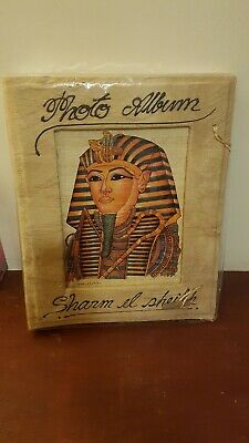 Traditional Photo Album by Paperchase, cream pages, with Egyptian papyrus