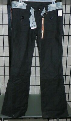 Be Bop Blue Pants w/Belt Womens Juniors NWT Size 5