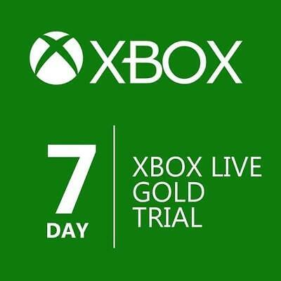 7 Days Xbox Live Gold Xbox One