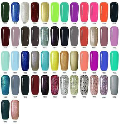 Nail Gel Polish Lacquer UV LED Manicure MS QUEEN 15ml No Wipe Top Coat Base Coat