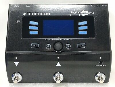"TC Helicon VoiceLive Play Acoustic Guitar & Vocal Digital Effects ""New Open Box"""