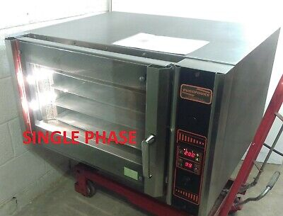 Eurofours RP04 SINGLE Phase 4 Tray Bake off Convection Oven 5kW +1 Year Warranty