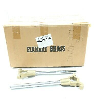 Box Of 2 Elkhart Products S454 Hydrant Wrench 18in