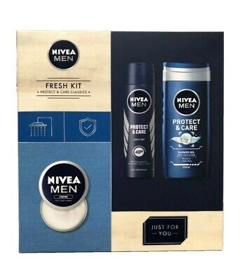 Nivea Men Collection Anti-Perspirant ShowerGel & Creme Easter father's Day gift