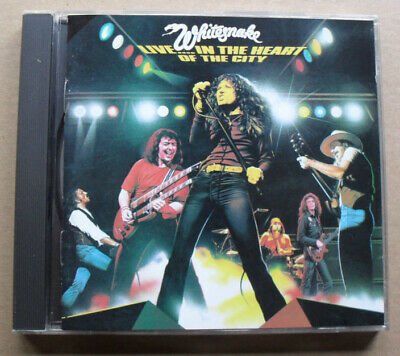 Whitesnake Live ... In The Heart Of The City Cd 13 Tracks Ercorded Live In 1978