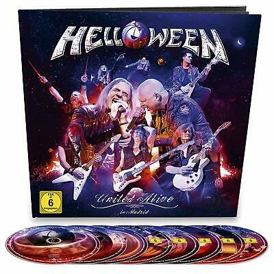 Helloween United - Alive CD Box Set Edition New 2019