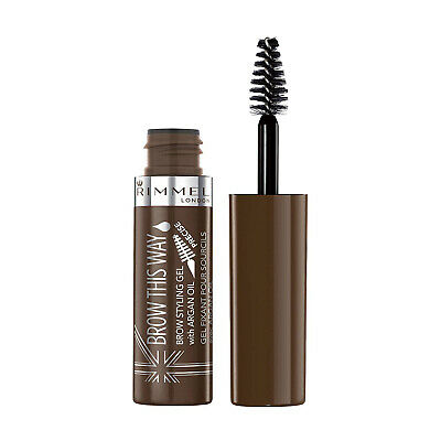 Rimmel Wenkbrauw Gel Brow This Way Argen Olie - Dark Brown 003