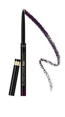 L'Oreal Waterproof Eyeliner - Superliner Mat-Matic 02 Deep Violet