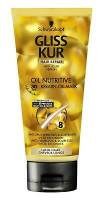 Gliss Kur Haarmasker - Oil Nutritive - 200 ml