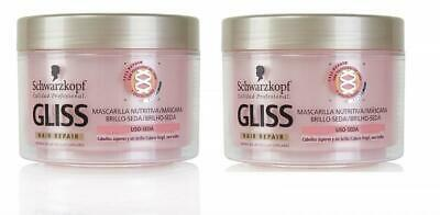 Schwarzkopf Gliss Kur Hair Repair Voedend Haarmasker - 2 x 200 ml