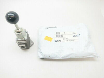 Parker C437 Hand Toggle 3/8in Npt 150psi