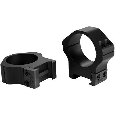 Warne 216LM Maxima//Magnum Black Matte 30mm Extra High Tactical Rifle Scope Rings