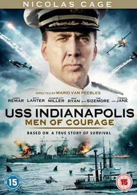 USS Indianapolis : Men Of Courage - Sealed NEW DVD - Nicolas Cage