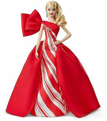 Holiday Barbie 2019 Doll in  Red & White Dress Signature Doll New