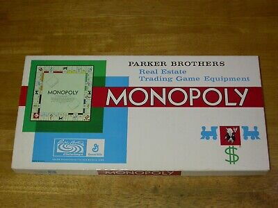 1968 Monopoly - Parker Brothers (Sealed hotels, barely used if ever)