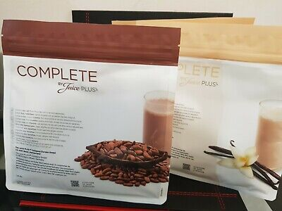 2x Juice Plus Complete Chocolate & Vanilla Shake New and in date.